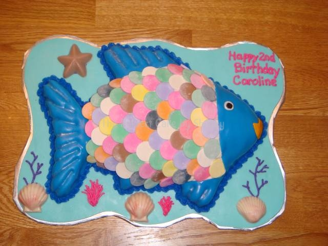 Fish Birthday Cakes. Shirley - Birthday Cakes